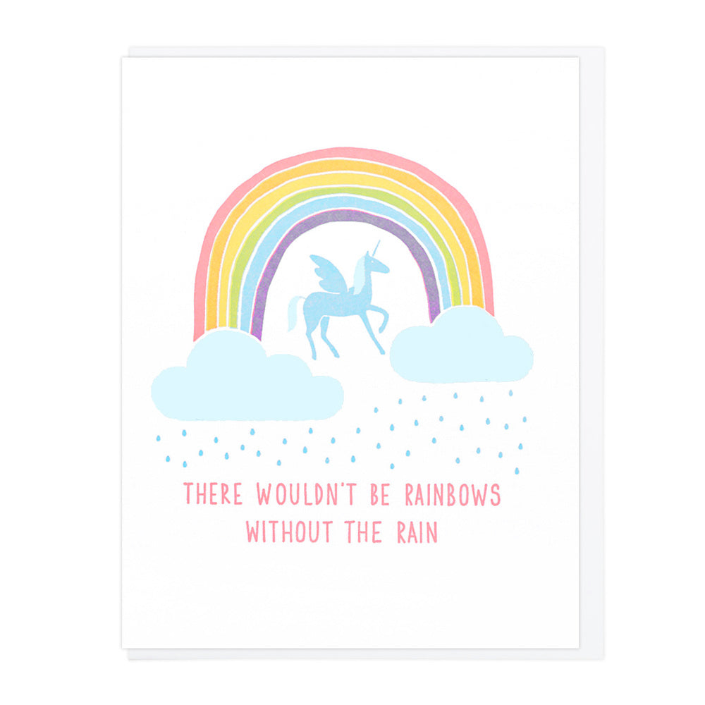 Rainbows Without The Rain - Greeting Card