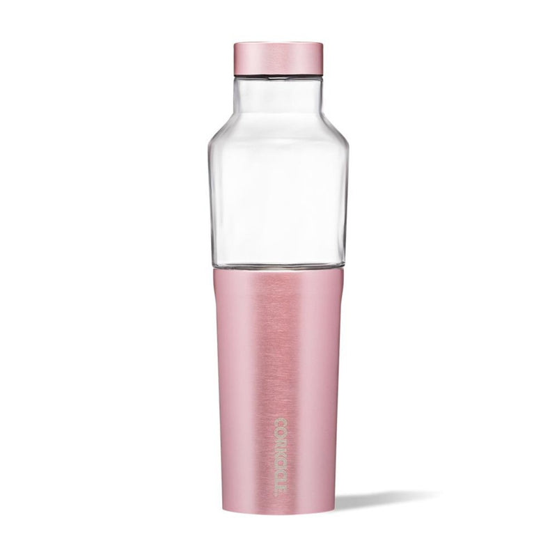Corkcicle 20oz Hybrid Canteen Rose Metallic