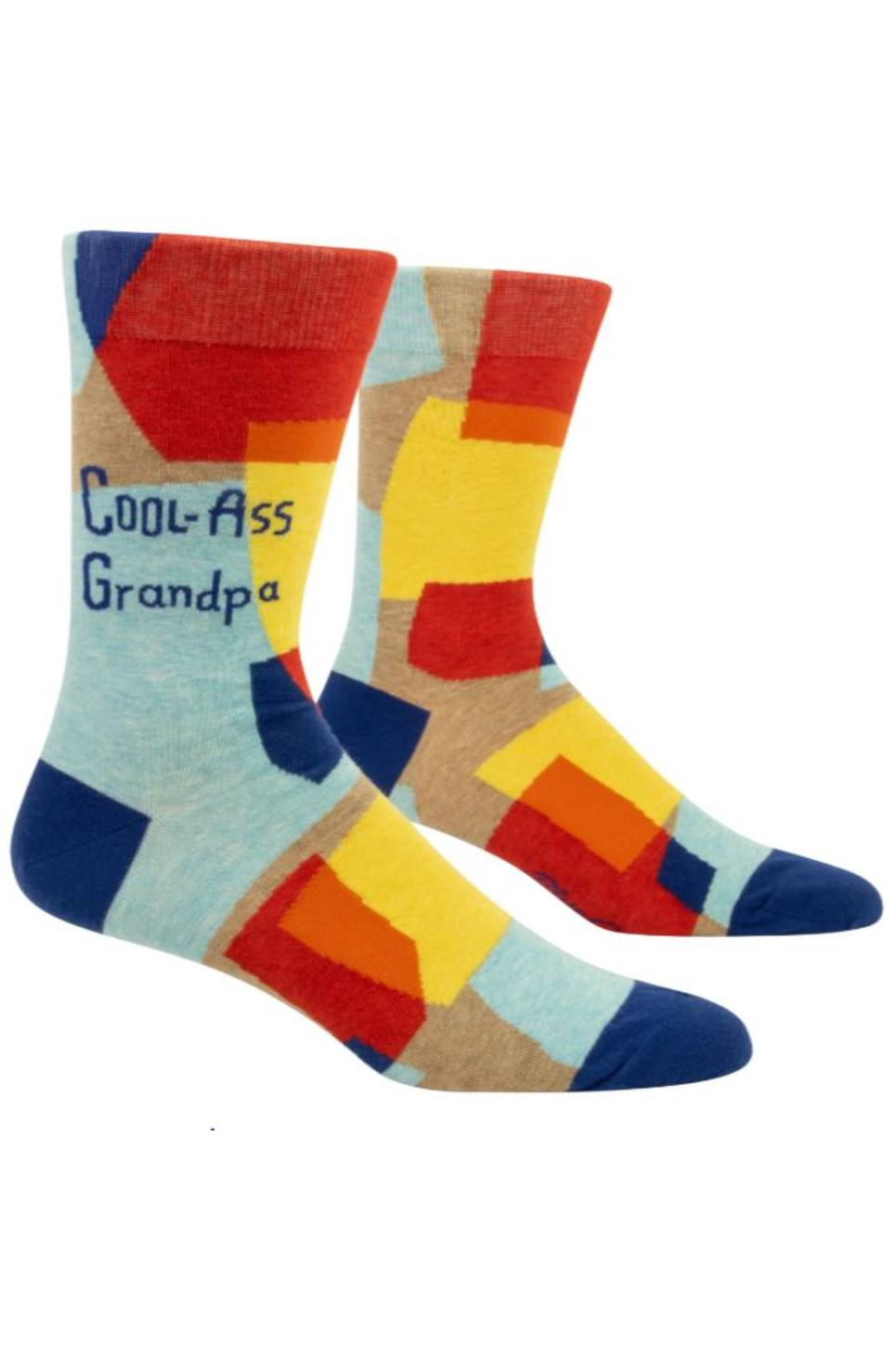 Cool Ass Grandpa Men's Crew Socks