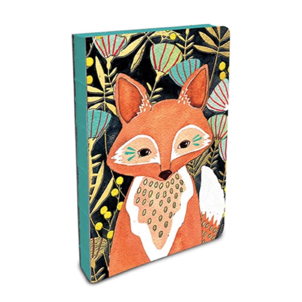 Coptic Bound Journal - Woodland Fox