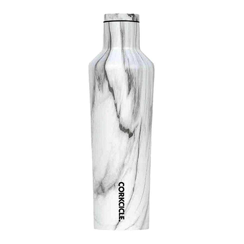 Corkcicle 25oz Canteen Wood Snowdrift