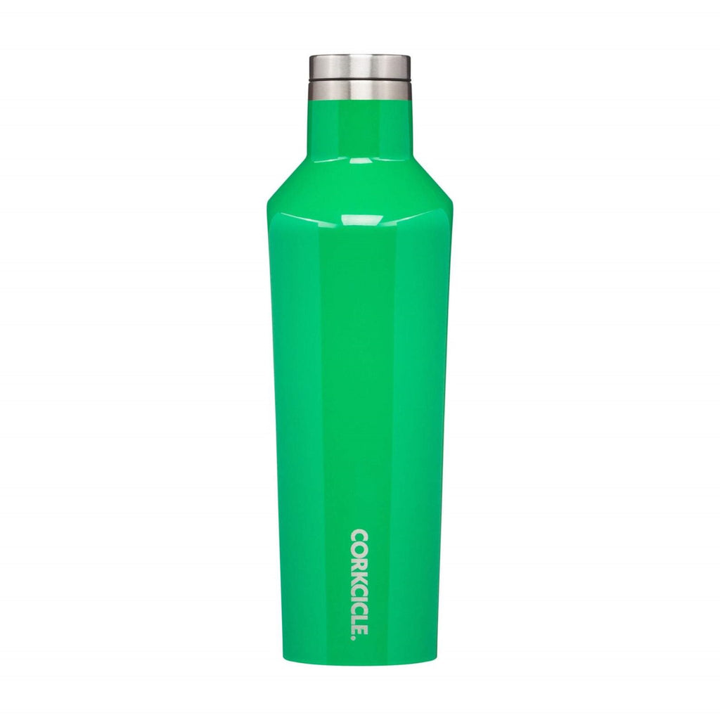 Corkcicle 16oz Canteen Gloss Green