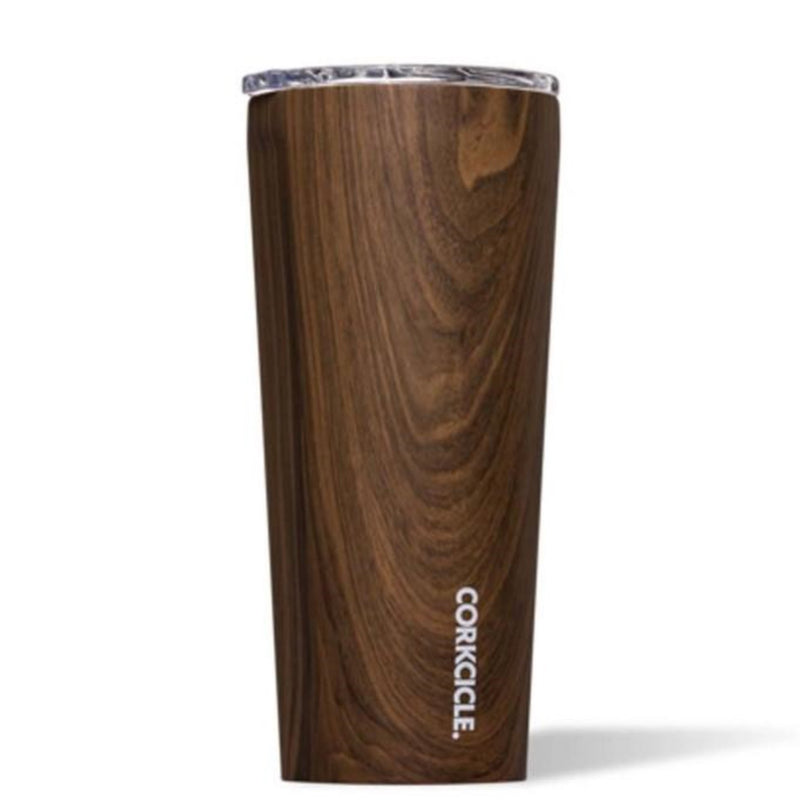 Corkcicle 24oz Tumbler Walnut Wood