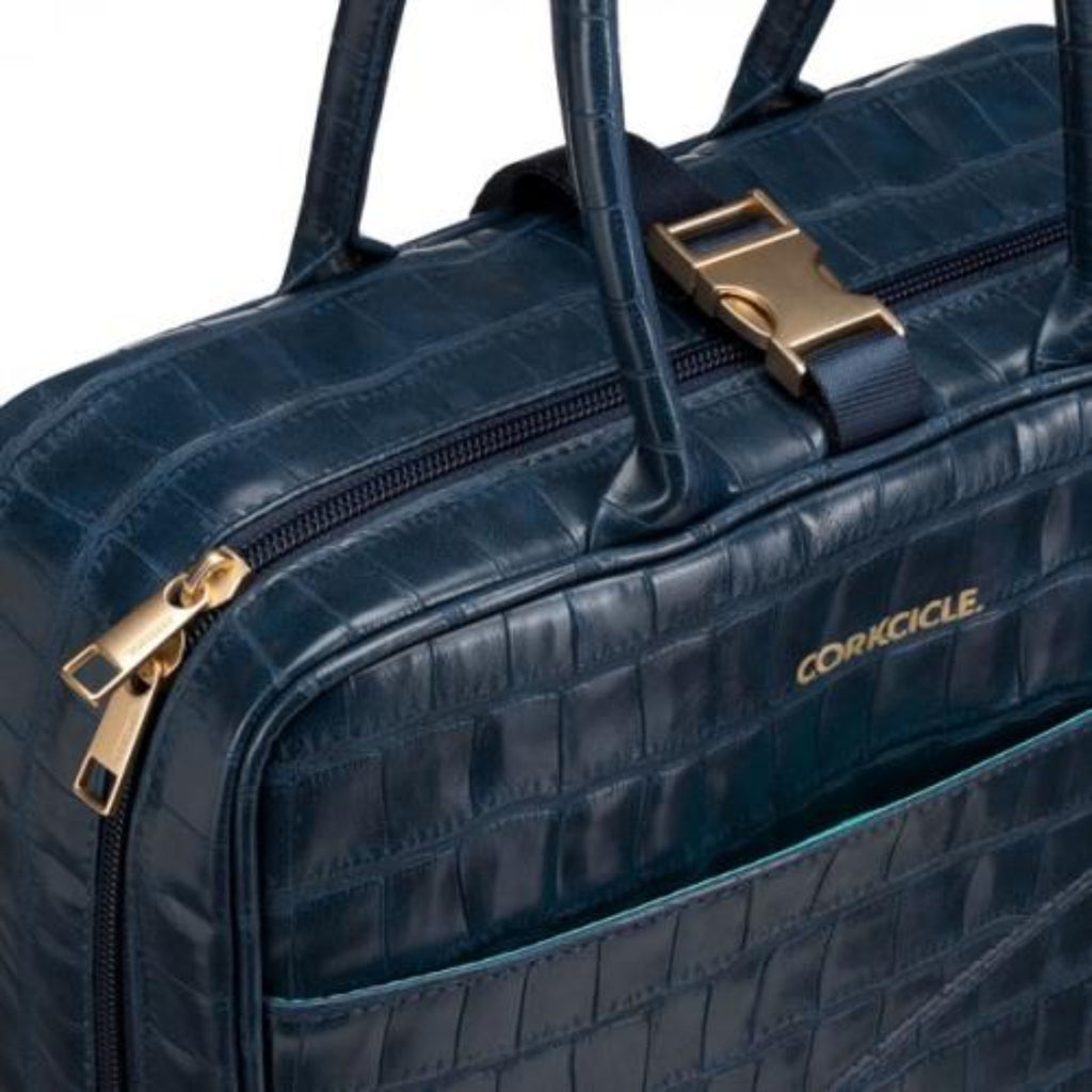 Corkcicle Baldwin Lunchbox- Navy Croc