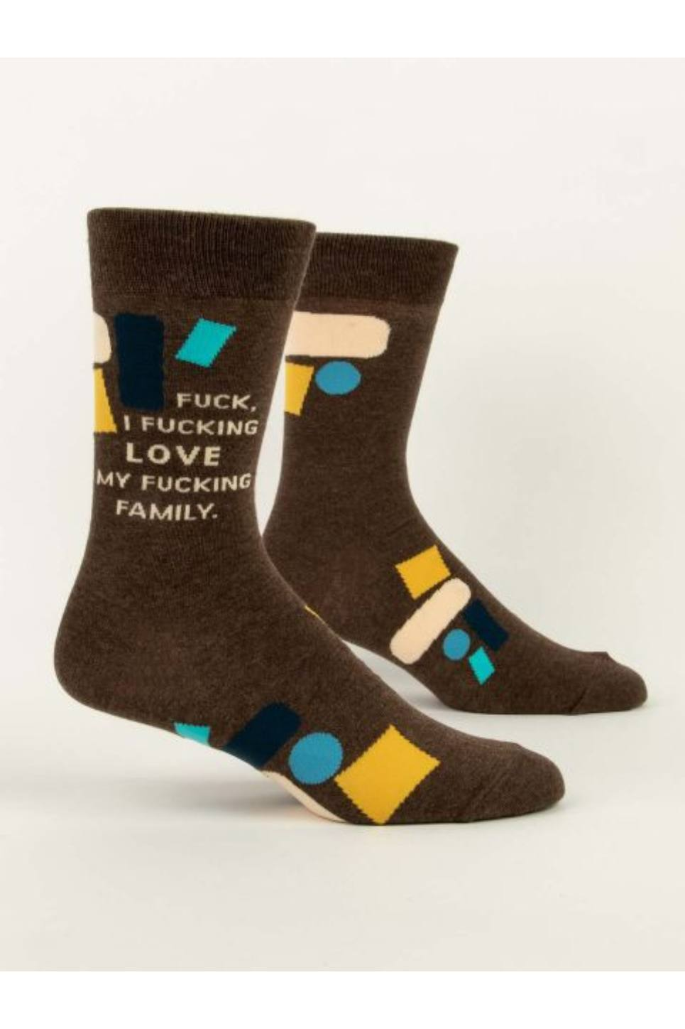 F*cking Love My Family Men's Crew Socks