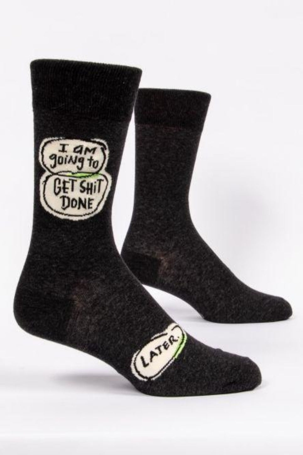 Get Sh*t Done Later Men's Crew Socks