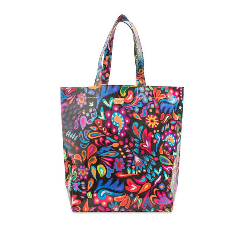 Consuela: Grab N' Go, Sophie Black Swirly Basic Bag