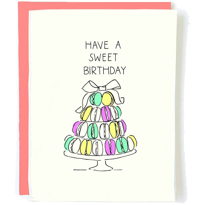 Sweet Birthday - Greeting Card