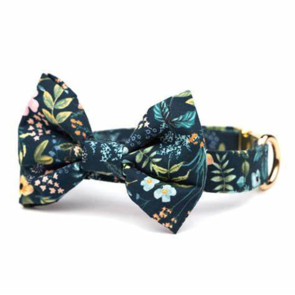 Herb Garden Dog Bow Tie - Large