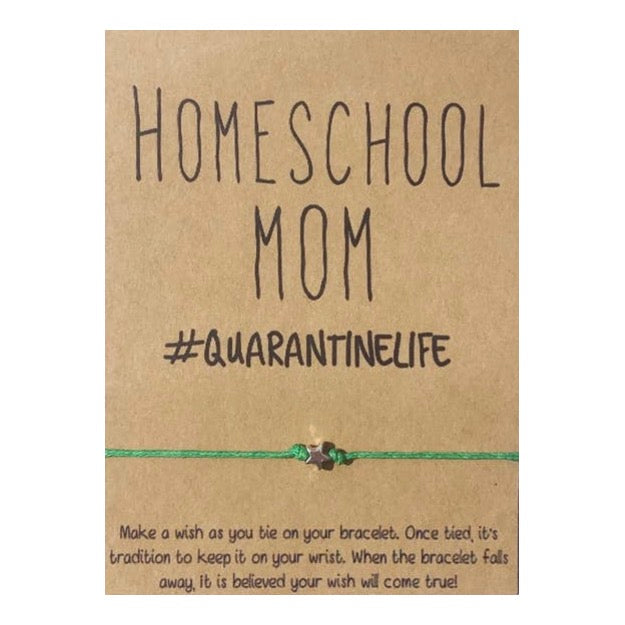 Home School Mom Wish Card