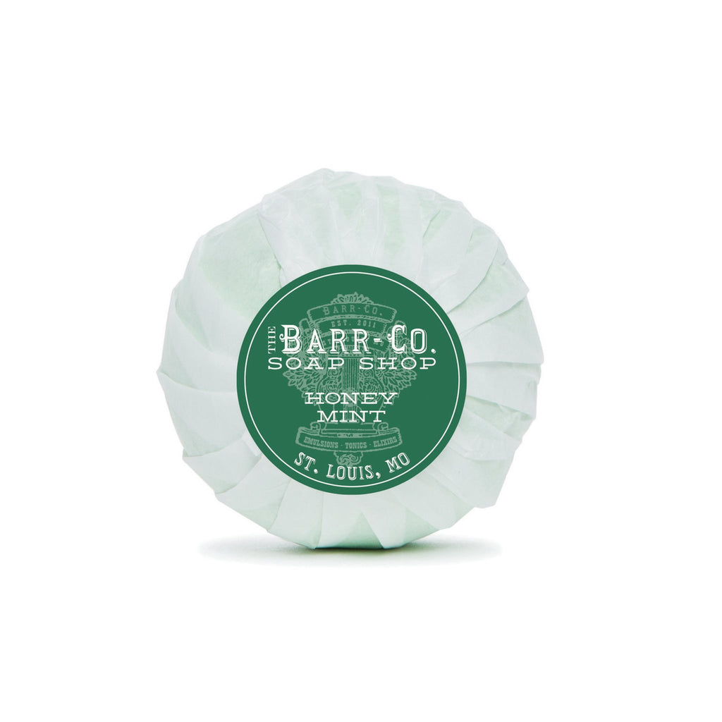 Barr-Co: Honey Mint Bath Bomb