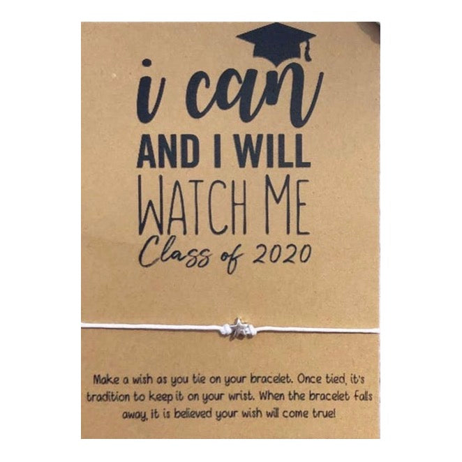 I Can and I Will 2020 Wish Card and Bracelet