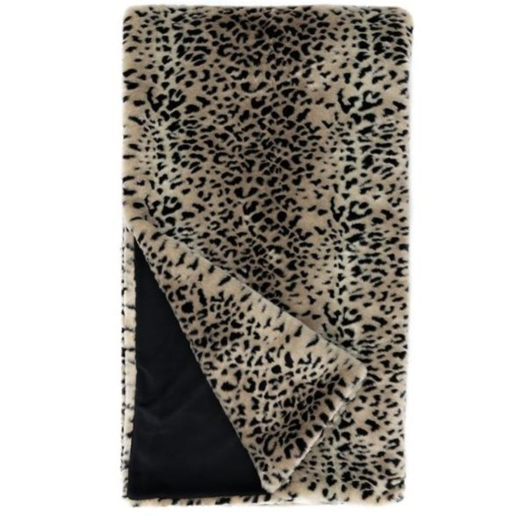 "Cheetah Faux Fur  60"" x 60"" Throw"