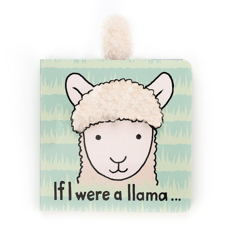 Jellycat If I Were A Llama Book