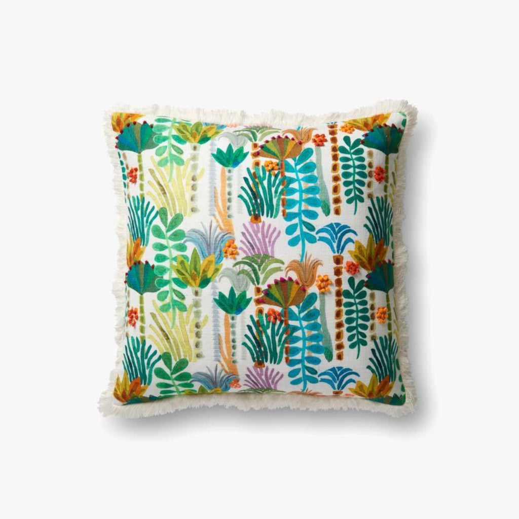 "Justina Blakeney: Lively Jungle Pillow 22"" X 22"""