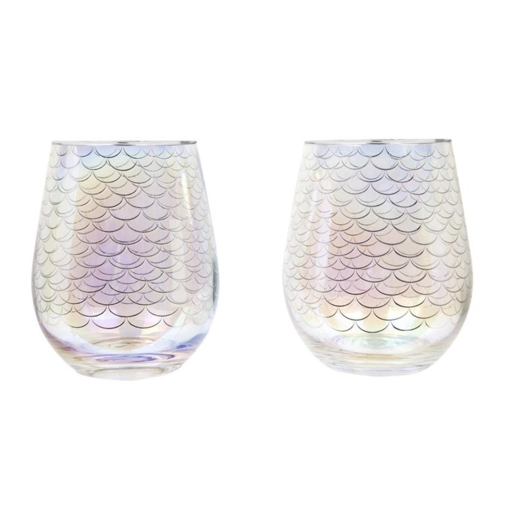 Magical Sea Stemless Cocktail Glasses
