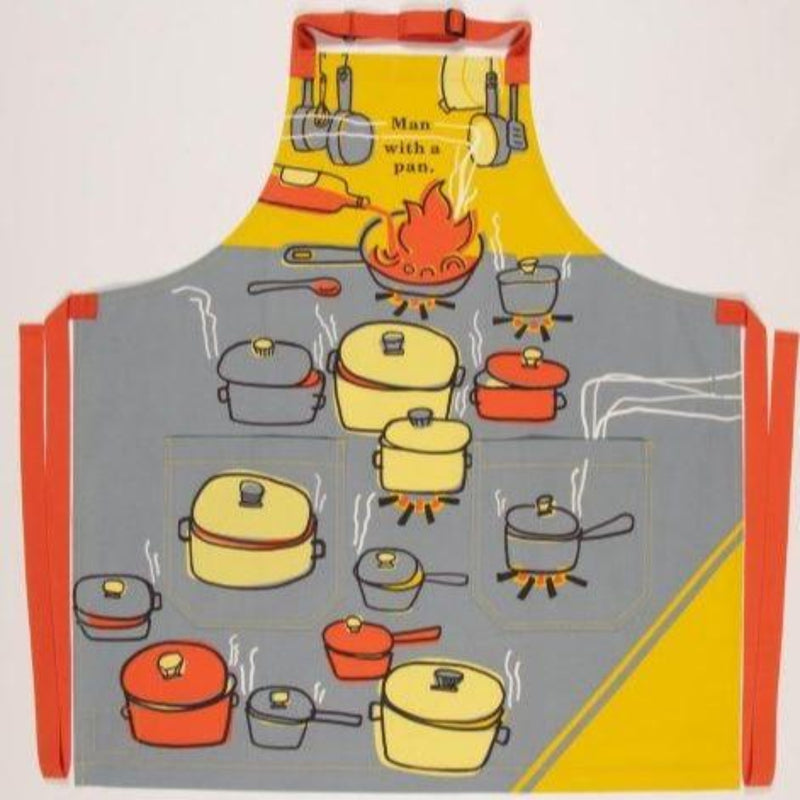 Apron: Man With A Pan