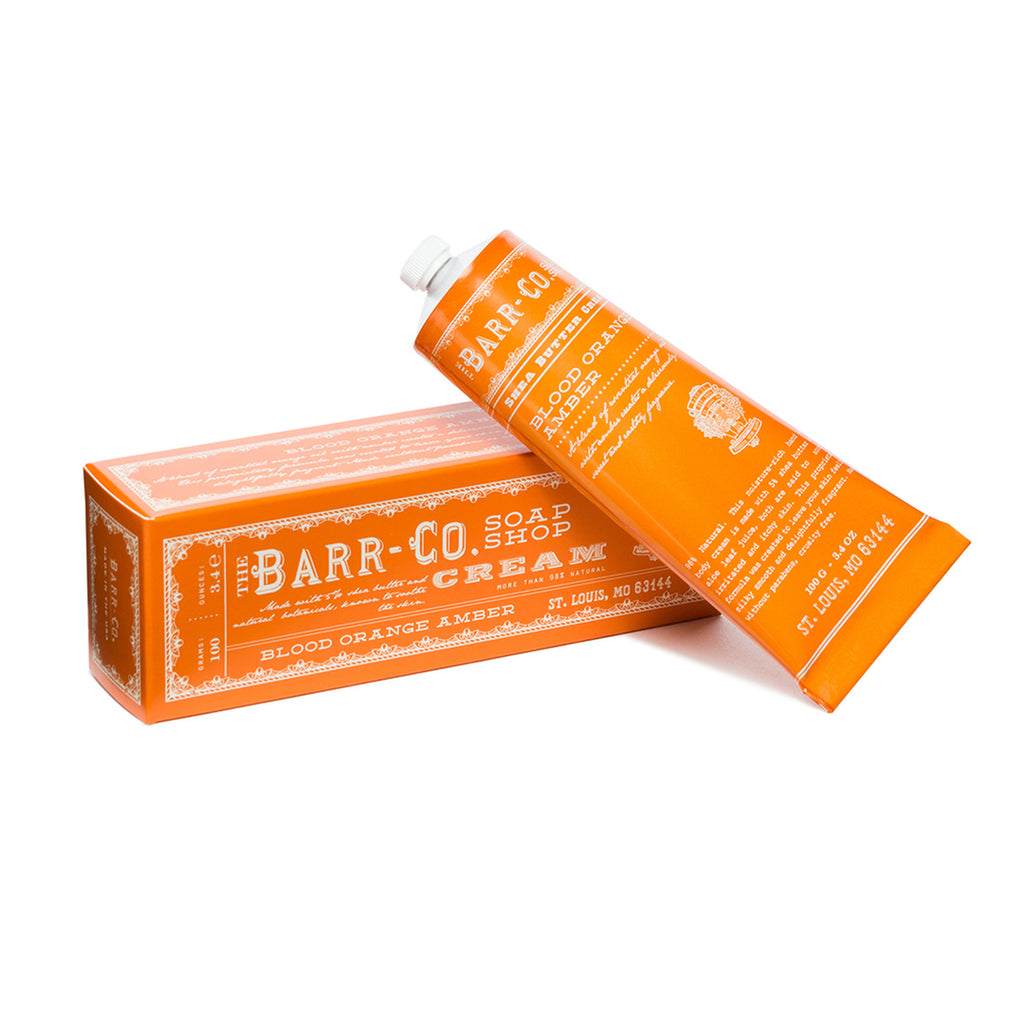 Barr-Co: Blood Orange Amber Mini Hand Cream - 1oz