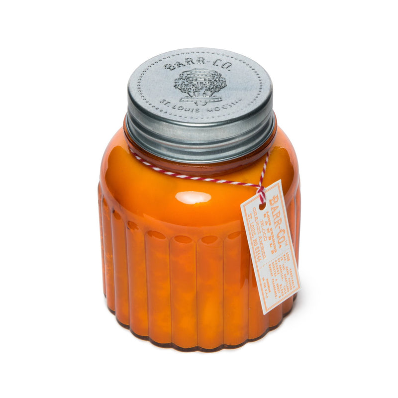 Barr-Co: Blood Orange Amber Apothecary Jar Candle