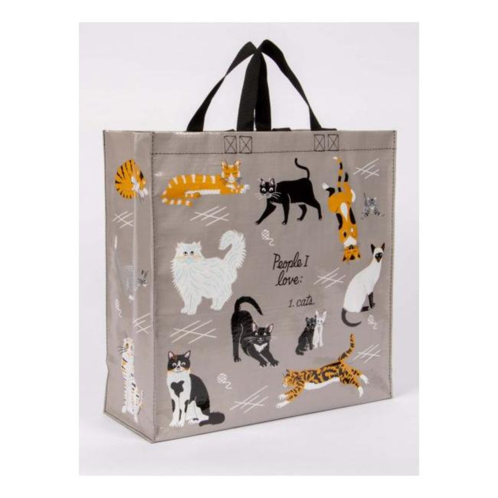 People I Love - Cats: Large Shopper Bag