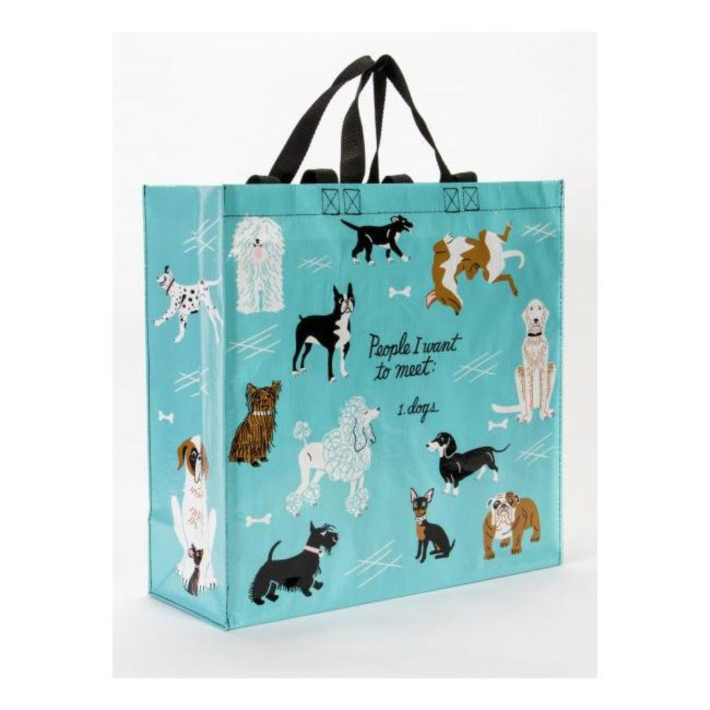 People I want to Meet - Dogs: Large Shopper Bag