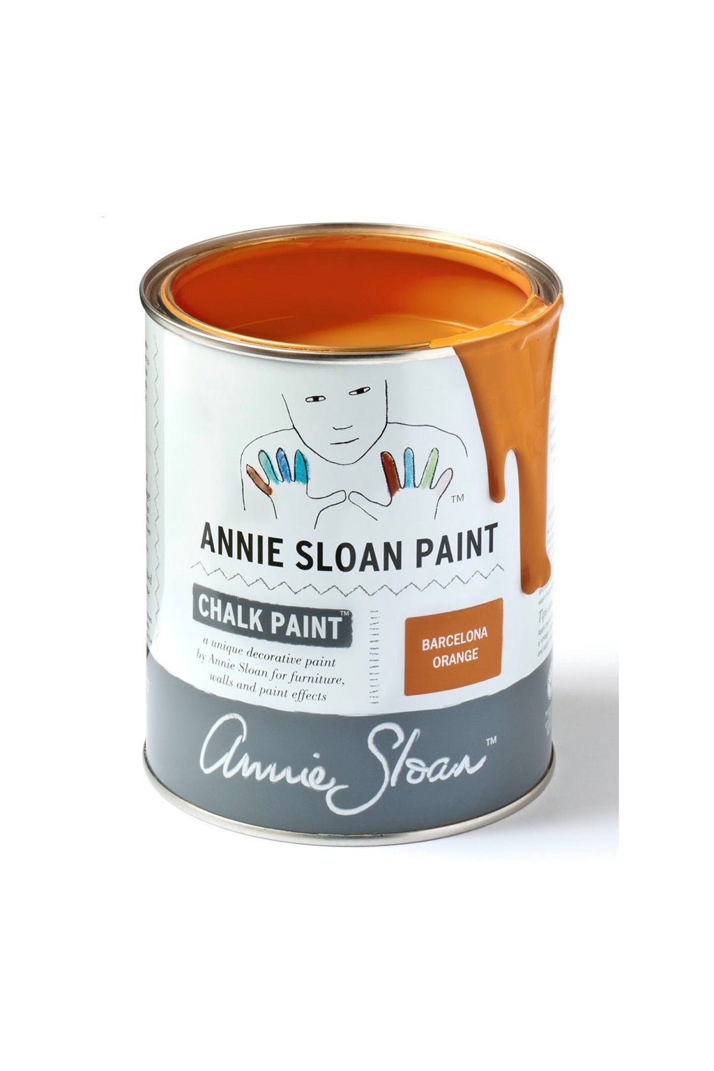 Annie Sloan® Chalk Paint™ Mini Can- Barcelona Orange