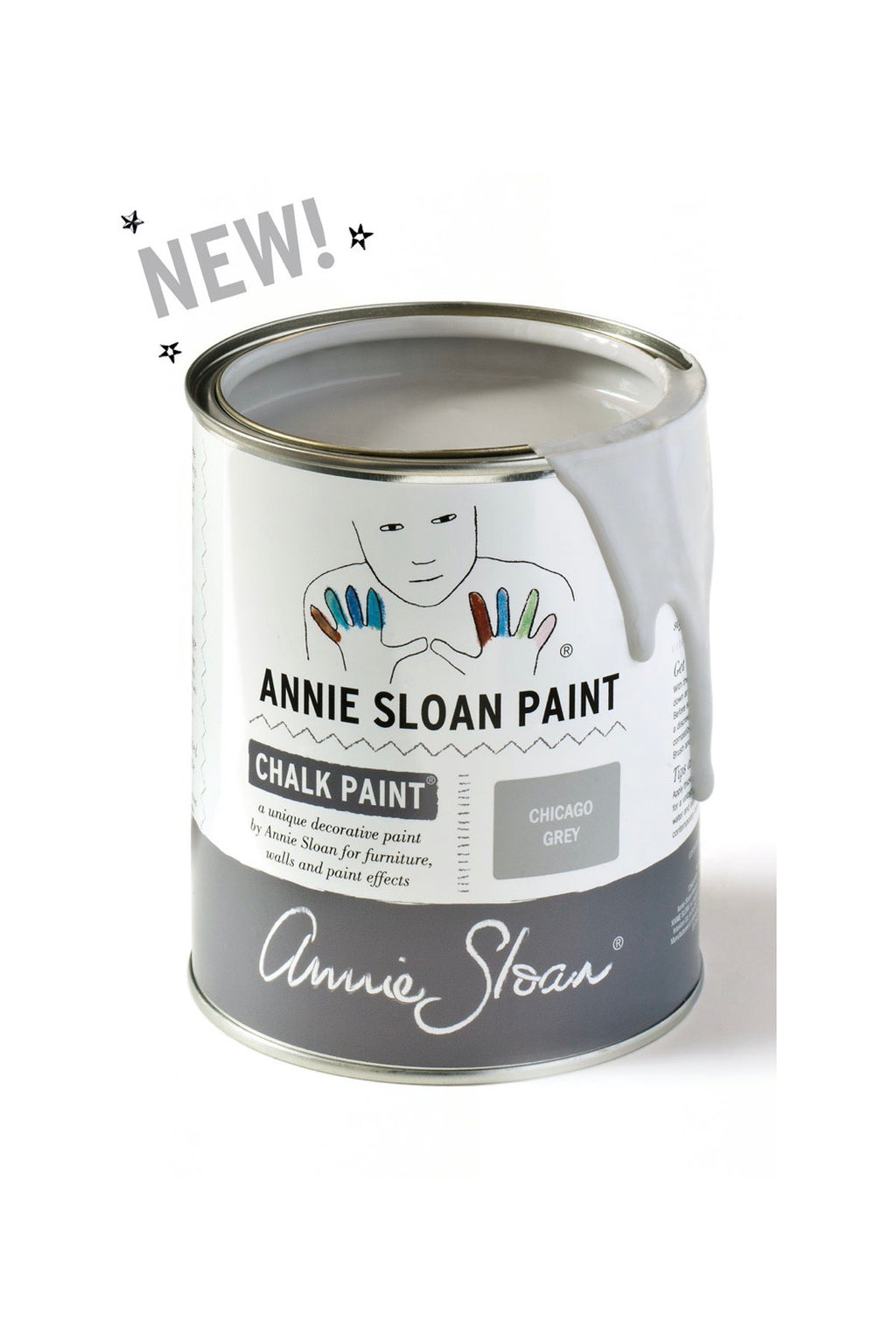 Annie Sloan® Chalk Paint™ Mini Can- Chicago Grey