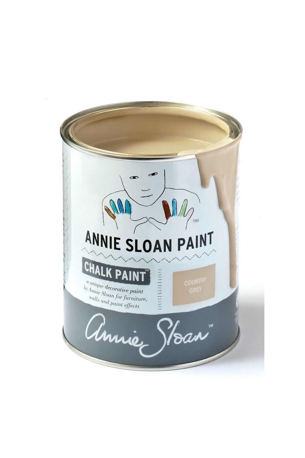 Annie Sloan® Chalk Paint™ Mini Can- Country Grey