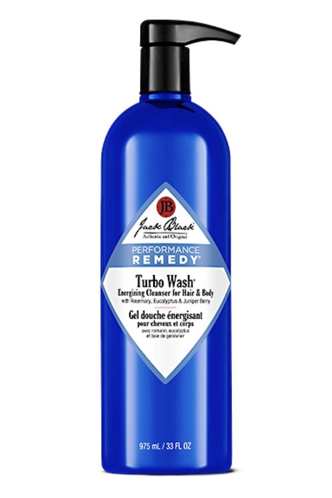 Jack Black Turbo Wash Energizing Cleanser 33oz with Pump