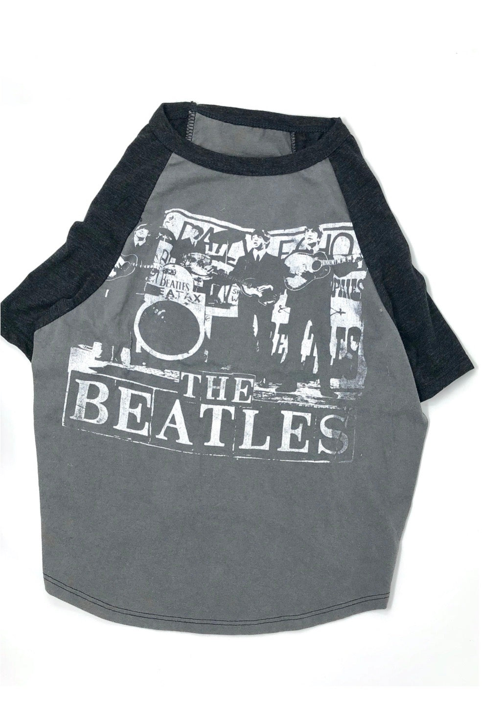 Vintage Beatles Dog Shirt, X-Large