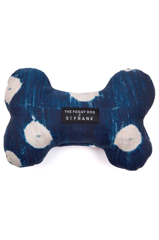 TFD x St. Frank Dots Indigo Squeaky Toy
