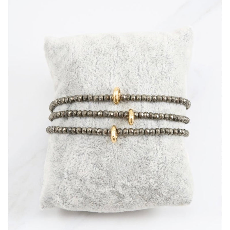 Savannah Gold Pyrite Bracelet