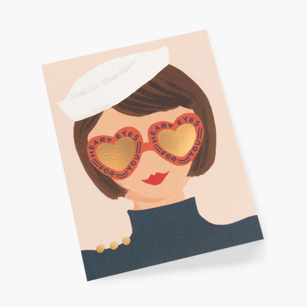 Heart Eyes - Greeting Card
