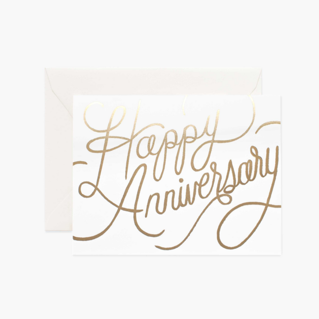 Happy Anniversary - Greeting Card