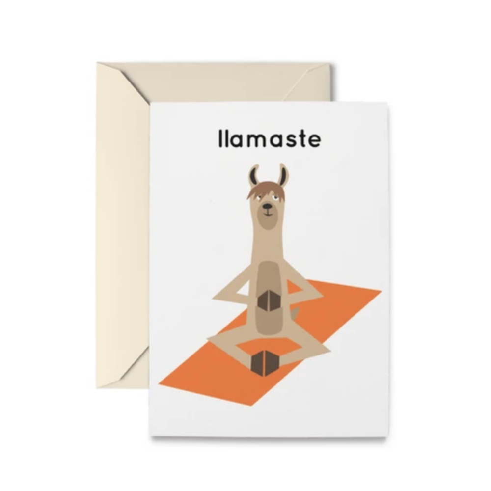 Llamaste - Greeting Card