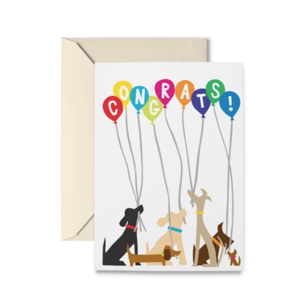 Doggie Congratulations - Greeting Card