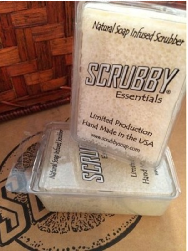 Scrubby Soap Goat Milk and Lavender