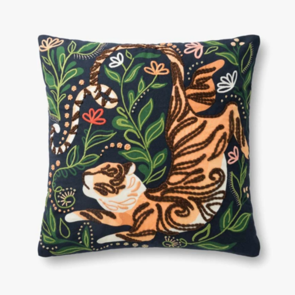 "Justina Blakeney: Jungle Tigeress Pillow- 22"" x 22"""