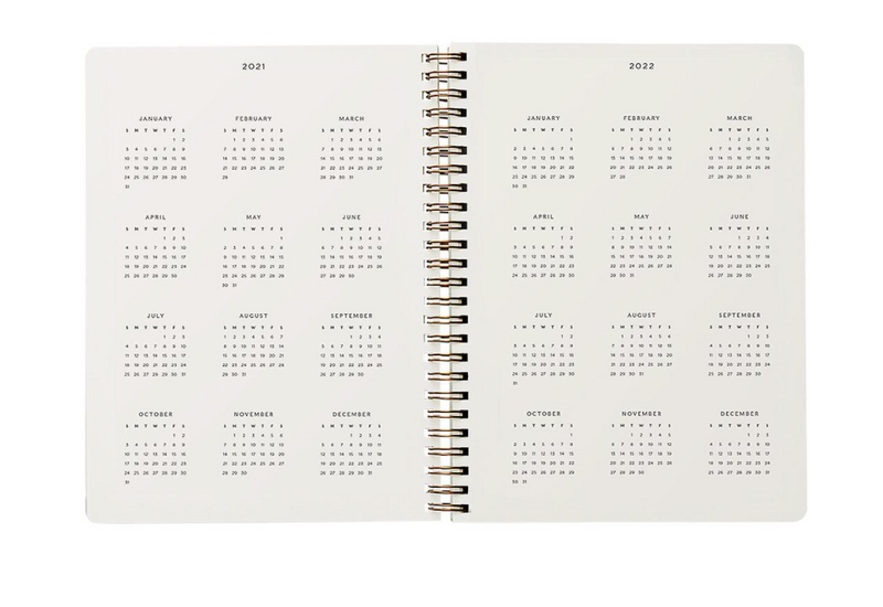 Rifle Paper Co: Strawberry Fields Softcover Spiral Planner