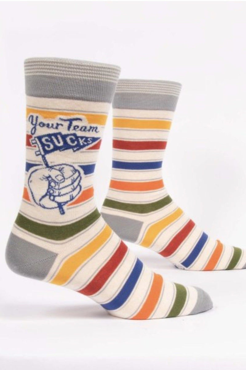 Your Team Sucks Men's Crew Socks