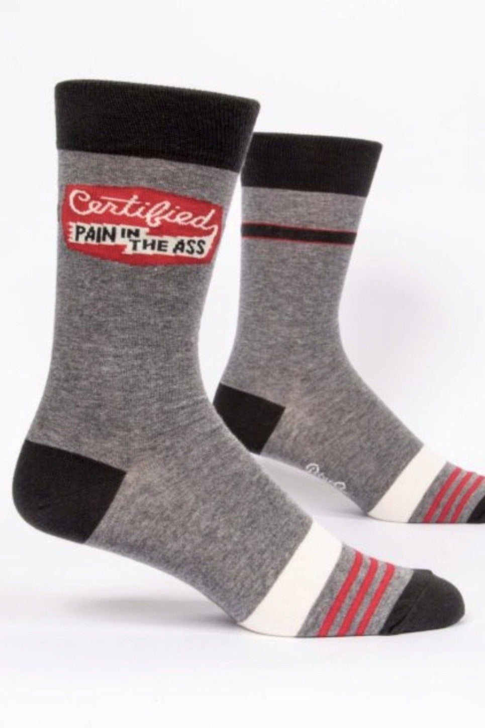 Certified Pain in the Ass Men's Sock
