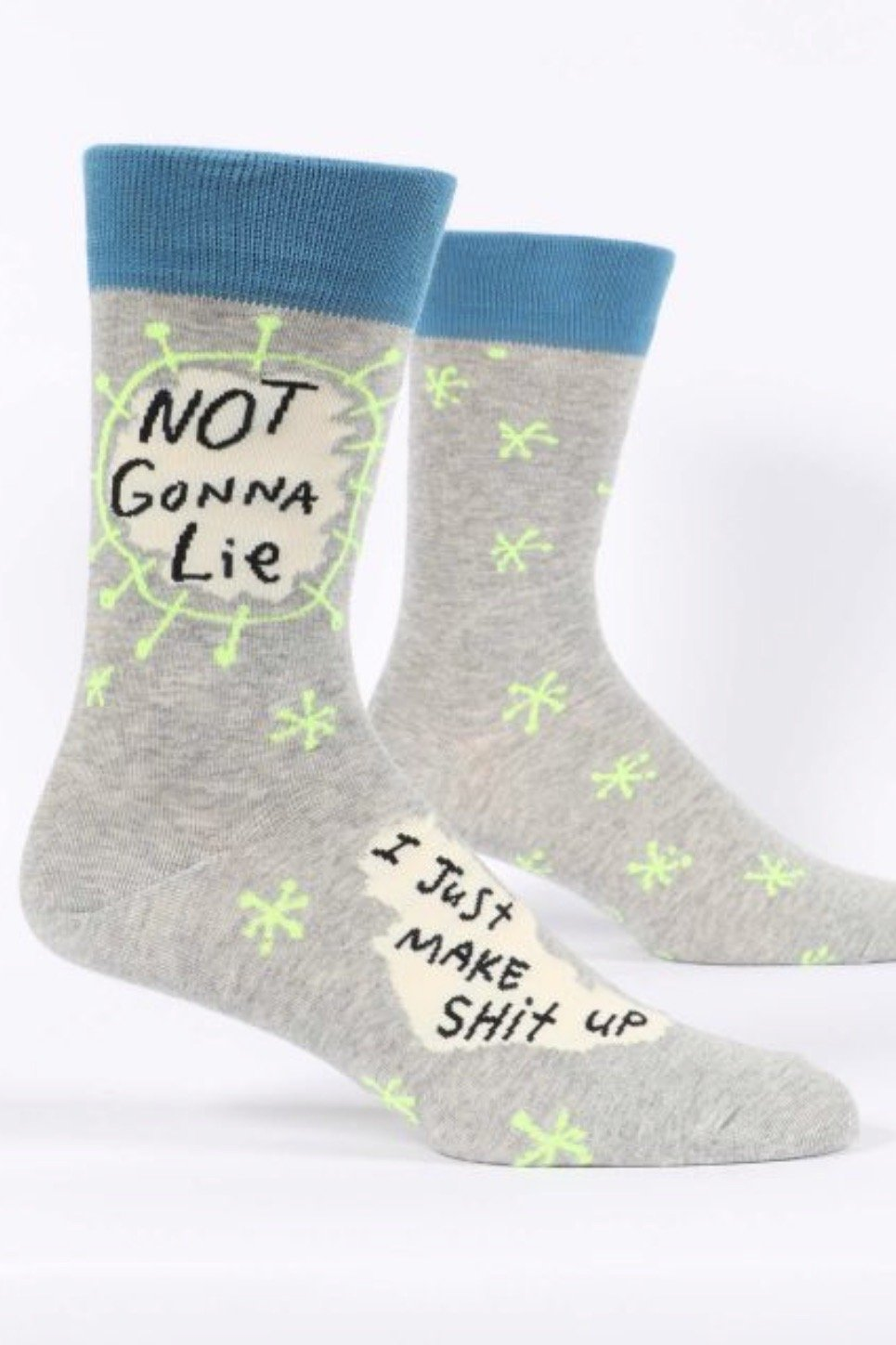 Not Gonna Lie Men's Crew Socks OSS