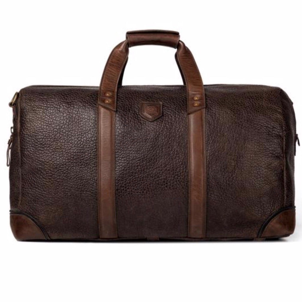 Theodore Leather Duffle Espresso