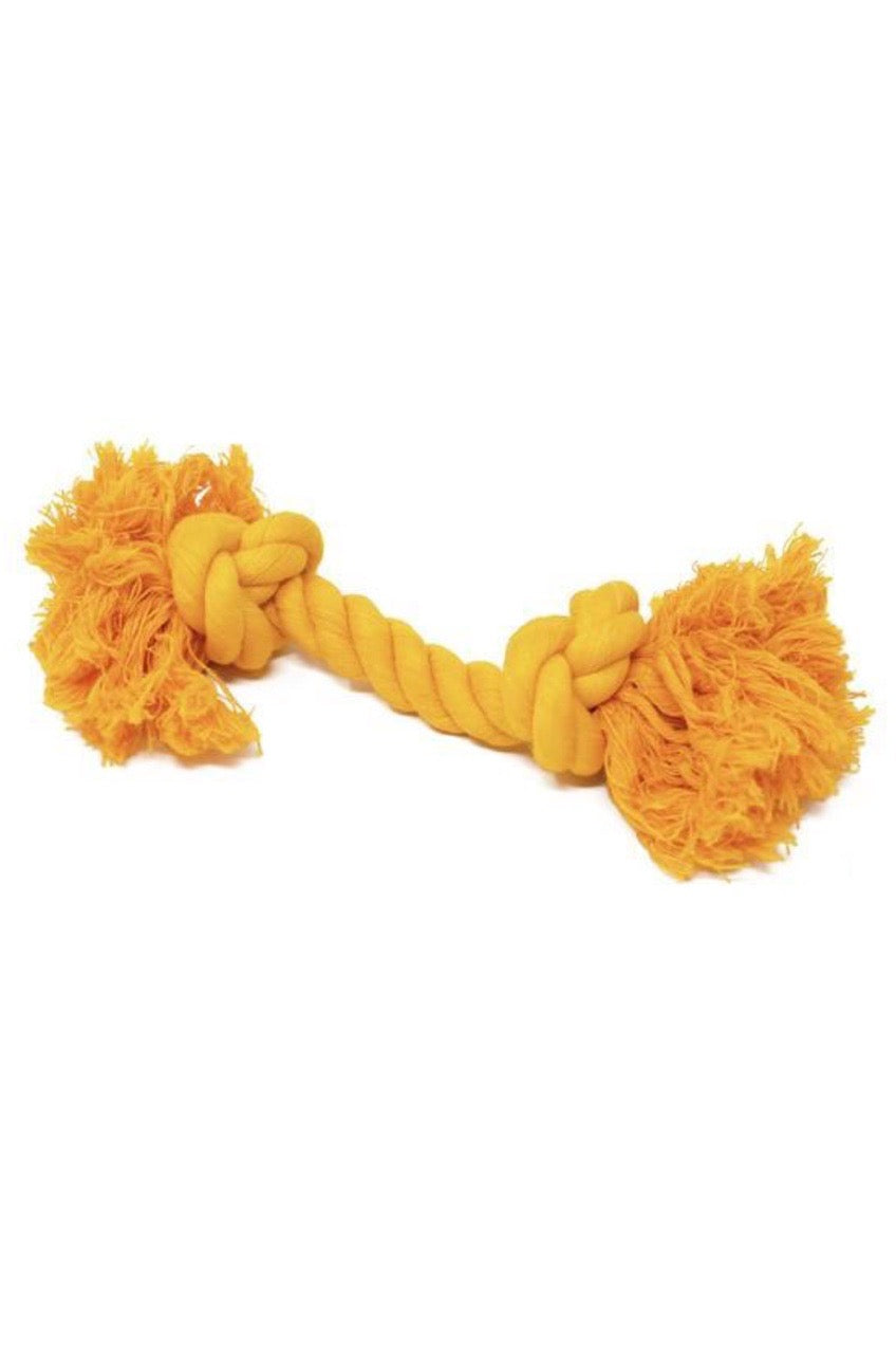 Dog Rope Toy Yellow Small