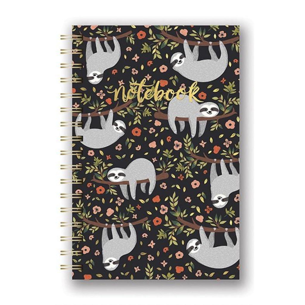Spiral Notebook - Happy Sloth