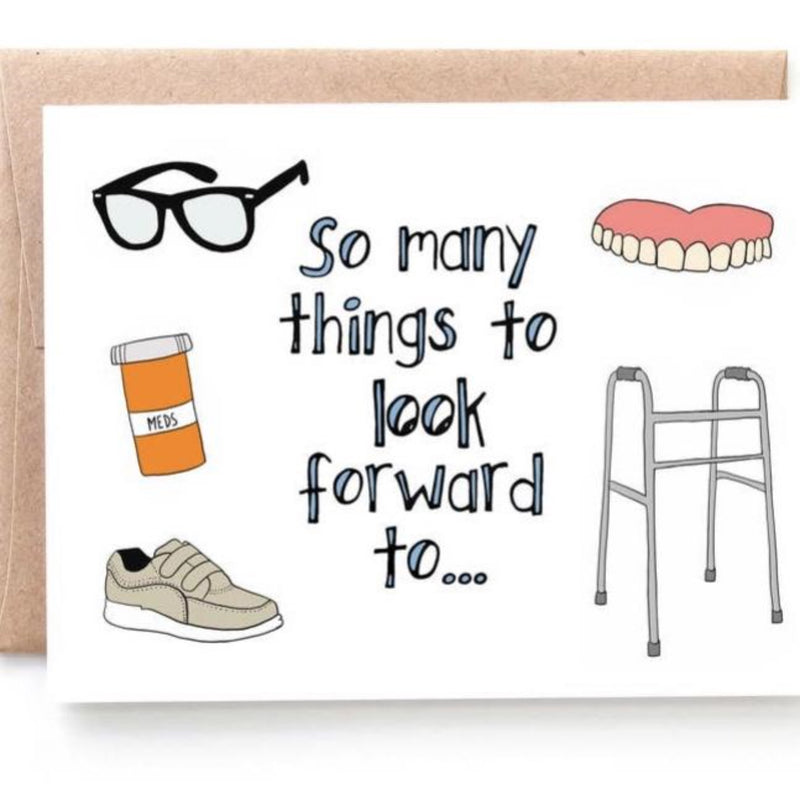 So Many Things To Look Forward To - Greeting Card