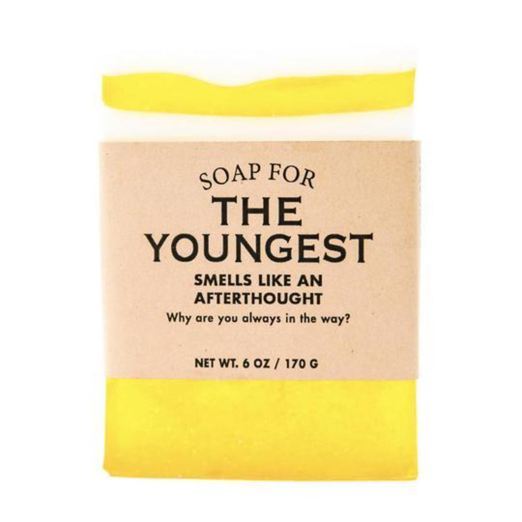 Soap: SOAP FOR THE YOUNGEST SOAP