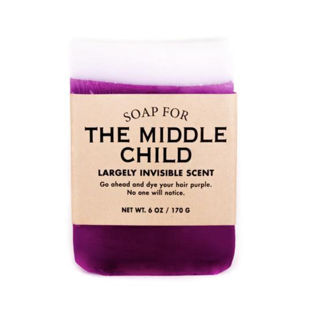 Soap: THE MIDDLE CHILD SOAP
