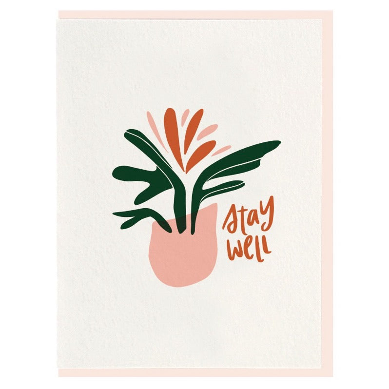 Stay Well - Greeting Card