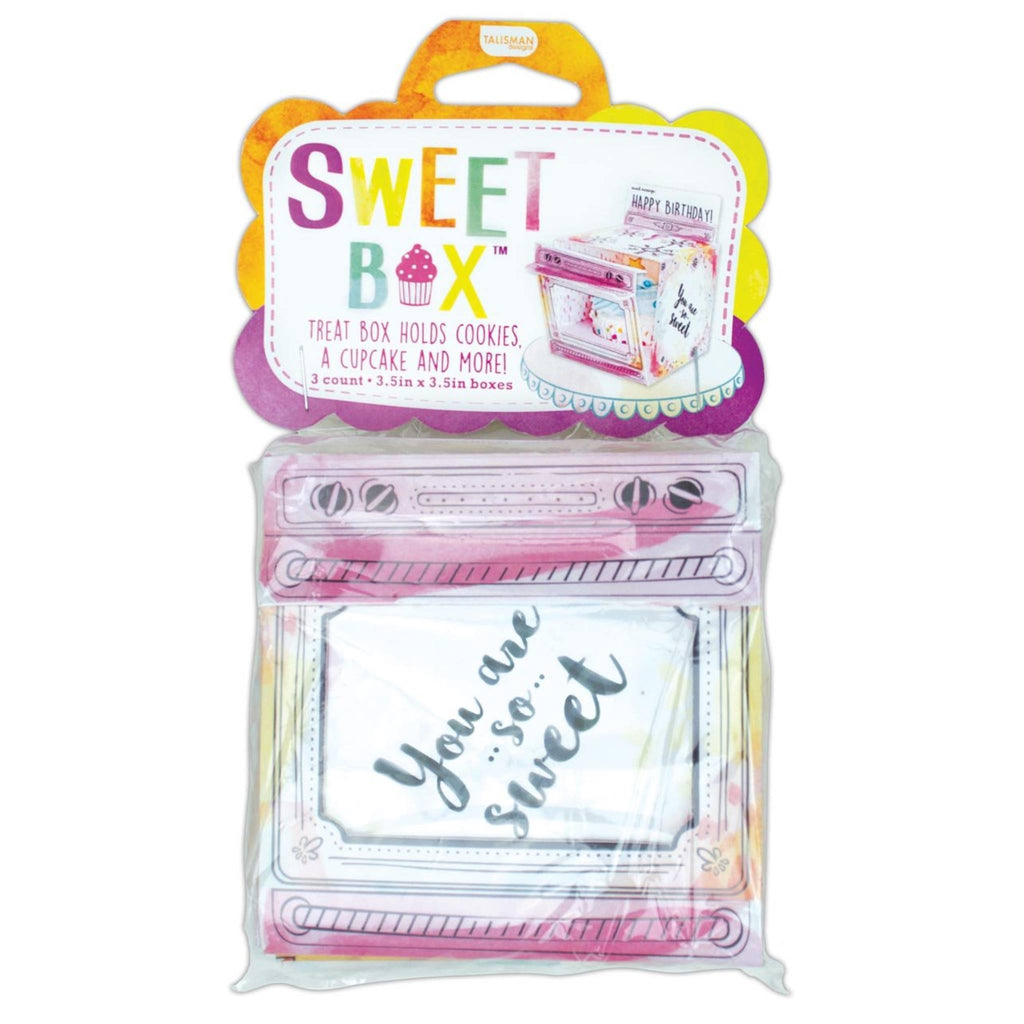 Sweet Box Oven - Pack of 3